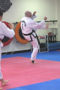 taekwon-do warm-up